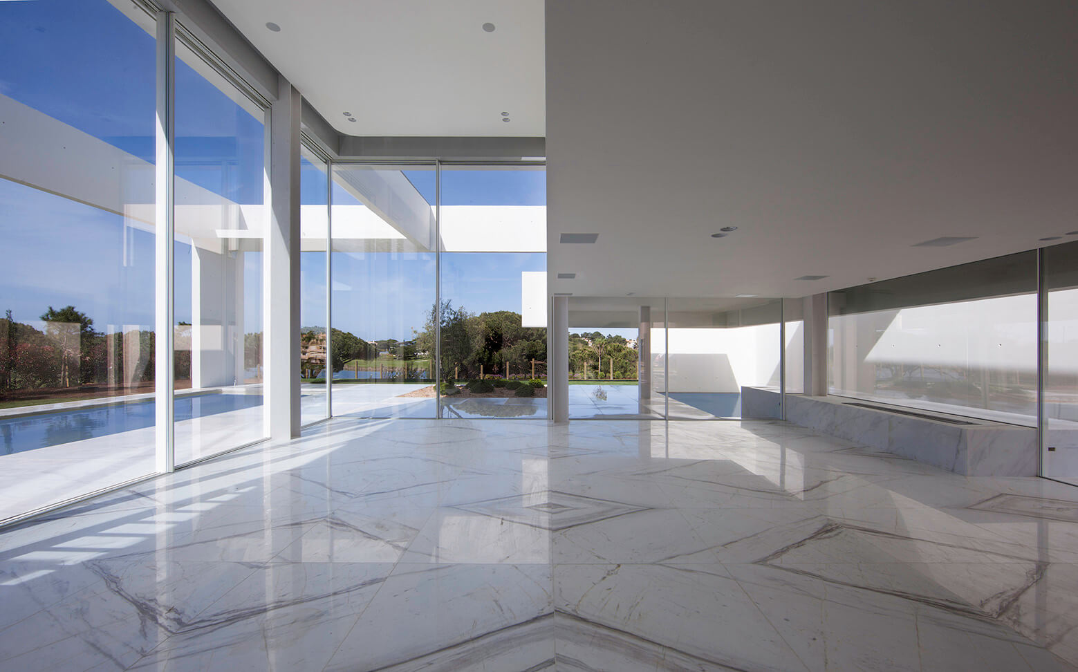 House in quinta do lago building views - Atelier arquitectura ...